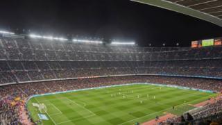 FC Barcelona rozegra sparing