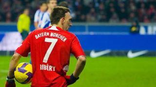 Franck Ribery podpisze kontrakt