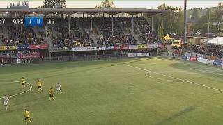Legia Warszawa grała z KuPS