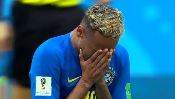 Neymar płacze