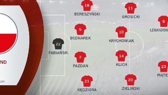 Oceny Polaków za mecz ze Słowenią: fatalny Klich, Pazdan zupełnie bez formy