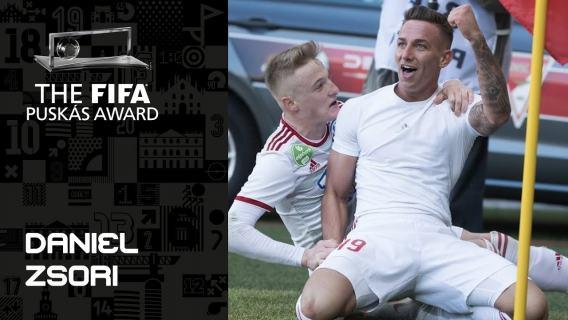 FIFA PUSKAS AWARD 2019 FINALIST: Daniel Zsori