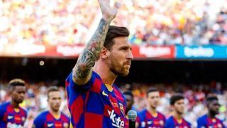 Leo Messi kontrakt
