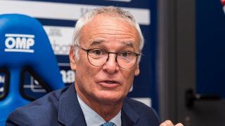 Trener Cladio Ranieri