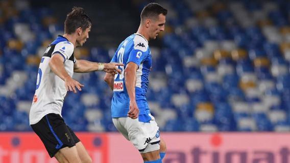Arkadiusz Milik uratował Napoli. Polak wpisał się na listę strzelców w bardzo ważnym meczu