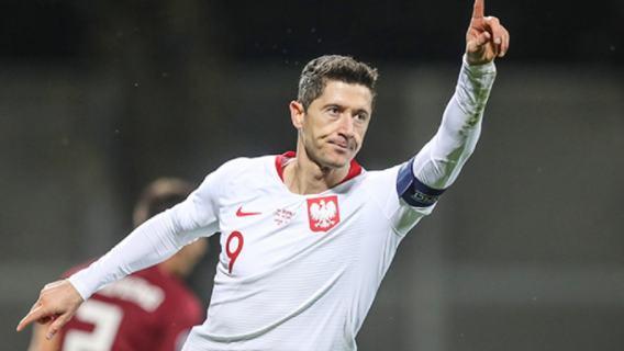 Reprezentacja Polski Łotwa