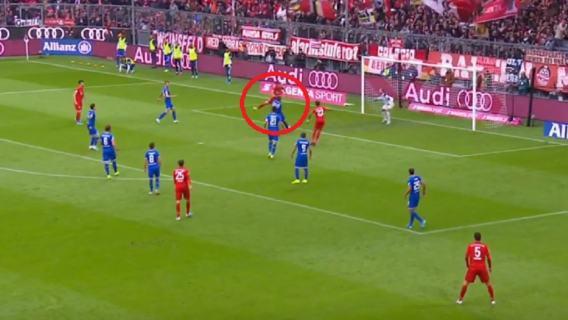 Robert Lewandowski gol Hoffenheim