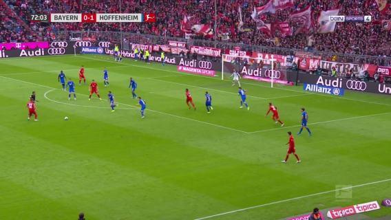 Bayern München vs Hoffenheim - Robert Lewandowski Goal - 73'