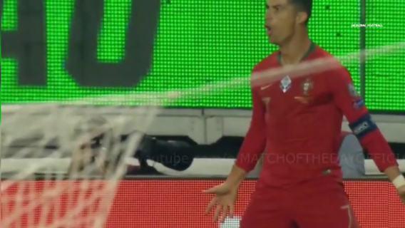 Cristiano Ronaldo goal vs Luxembourg