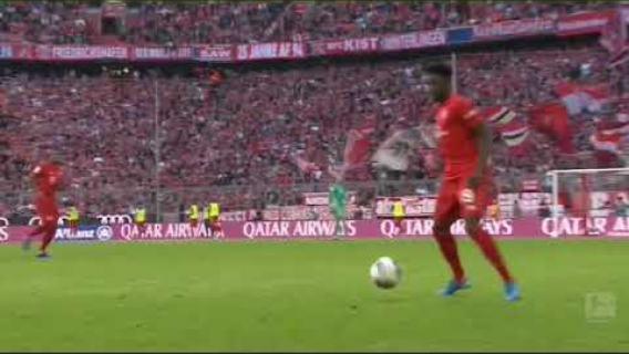 Lewandowski goal - Bayern Munchen 2-0 Fc union Berlin