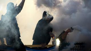 Kibice Włochy Balotelli