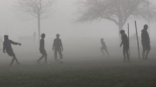 Smog trening piłka nożna
