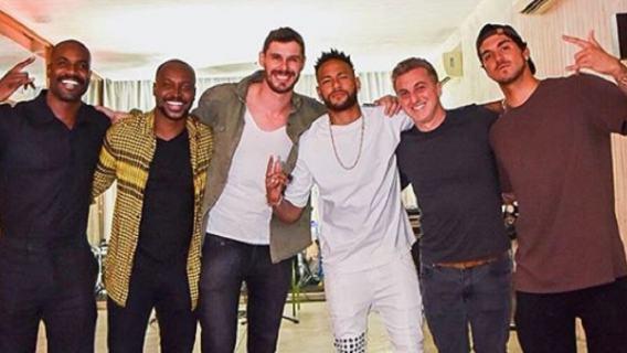 Neymar koledzy zarobki