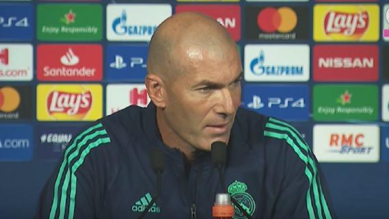 Real Madryt Bale Zidane