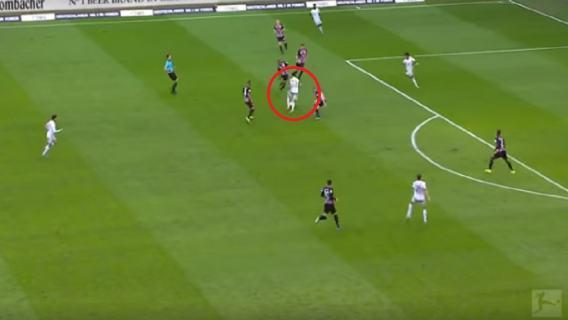 Robert Lewandowski wideo Eintracht