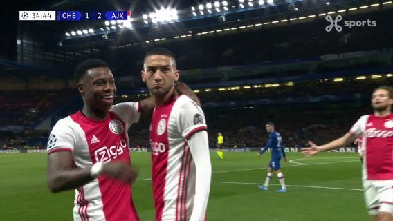 UEFA Champions League (05/11/2019) Chelsea - Ajax / Own Goal Kepa