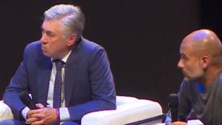 Trener Carlo Ancelotti