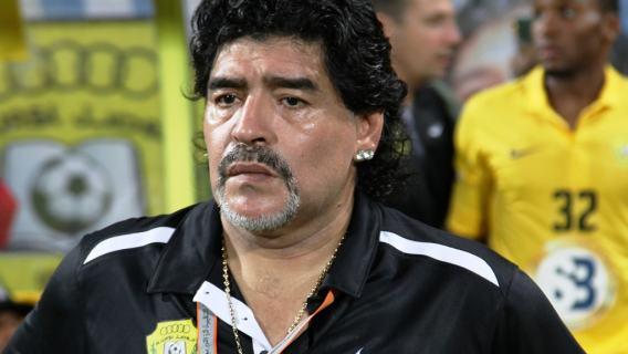 Diego Maradona najlepszy