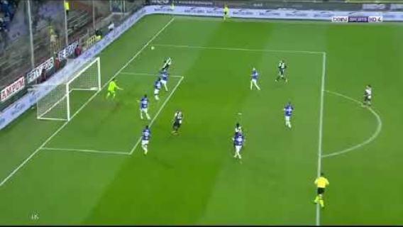 Amazing !!! Super head goal by Cristiano Ronaldo vs sampdoria