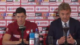 Robert Lewandowski i Zbigniew boniek