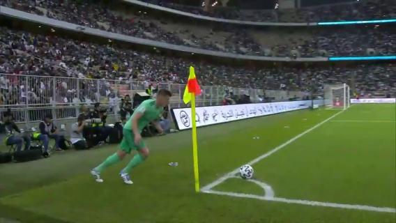 Toni Kroos corner kick goal Real Madrid vs Valencia 1-0 Gol de Toni Kroos