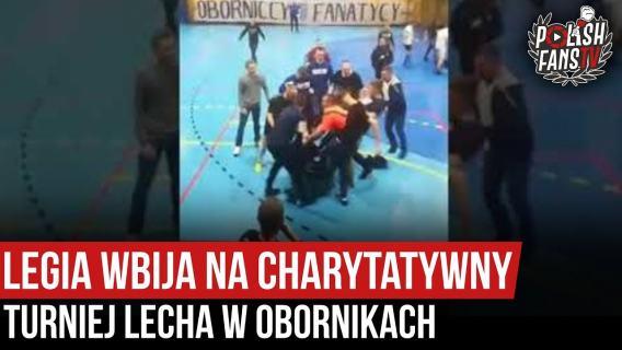 Legia wbija na charytatywny turniej Lecha w Obornikach (18.01.2020 r.)