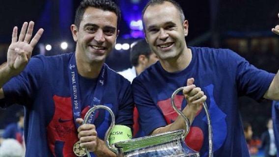 Xavi i Iniesta