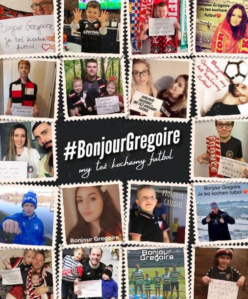 #BonjourGregoire