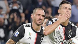 Cristiano Ronaldo Instagram rekord Serie A gol
