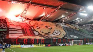 Legia Warszawa kibice stadion Ekstraklasa ŁKS Łódź Żyleta