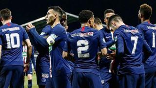 Liga Mistrzów PSG