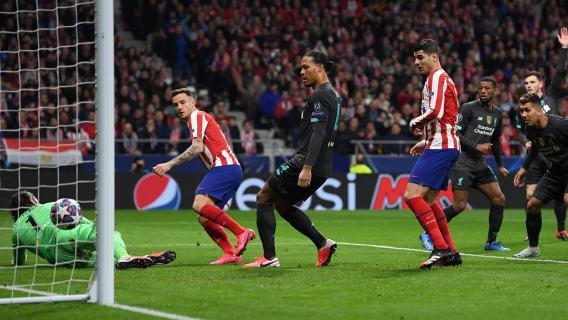 Atletico Liverpool Liga Mistrzów