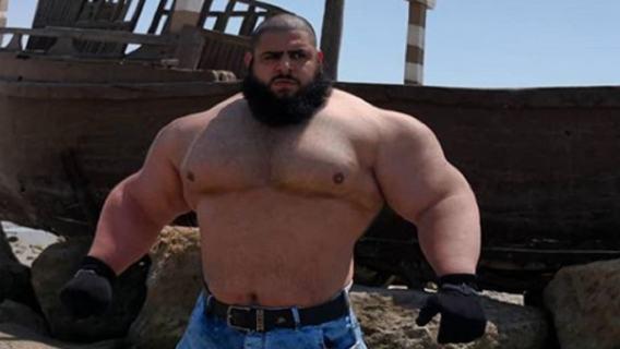 Nowy gwiazdor Fame MMA? Irański Hulk coraz bliżej występu w Polsce, to zdjęcie mówi wszystko (ZDJĘCIE)