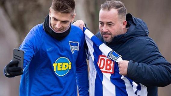 Krzysztof Piątek zachwycił wszystkich na treningu.