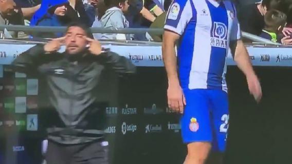Takich scen kibice w Hiszpanii nie widzieli od dawna. Rasistowskie zachowanie trenera z La Ligi (WIDEO)