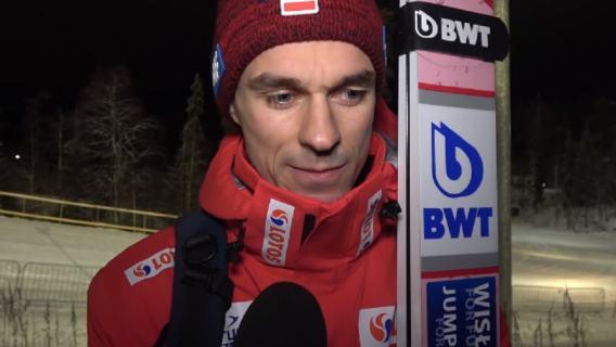 Piotr Żyła dziękujemy Puchar Świata Skoki narciarskie