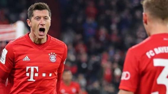Bayern Monachium Robert Lewandowski dziennikarze