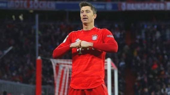 Robert Lewandowski osiągnięcie rekord Bundesliga Bayern Monachium