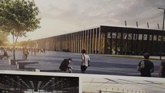 Wizualizacja nowego stadionu GKS Katowice