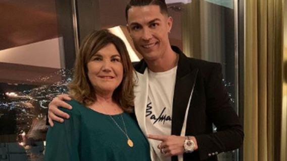 Cristiano Ronaldo Mama