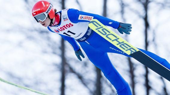 Świetny występ polskiego zawodnika. Wspaniałe skoki dały mu miejsce na podium