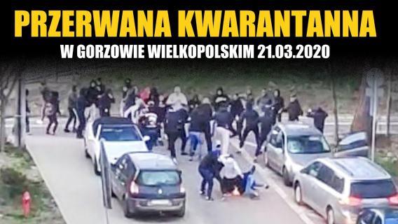 Przerwana kwarantanna w Gorzowie Wielkopolskim 21.03.2020
