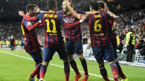 FC Barcelona gwiazdy trener
