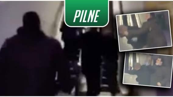 Atak pod szpitalem z ofiarami COVID-19. Zagraniczni kibice rzucili się na mężczyznę pomagającego ofiarom (WIDEO)