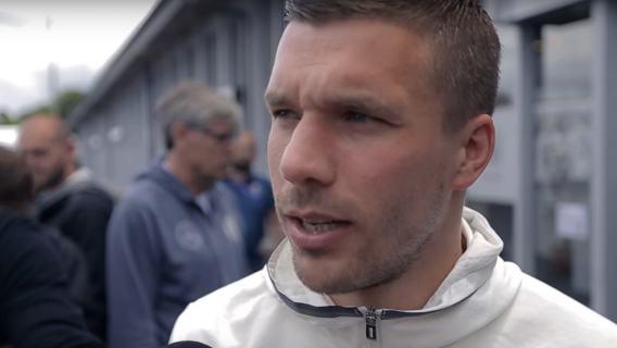 Lukas Podolski nie wytrzymał nerwowo. Padły mocne słowa,