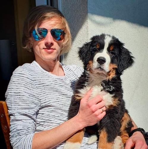 Dawid Kubacki pies