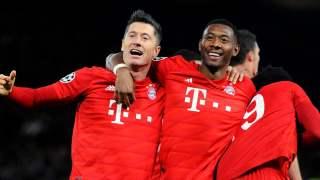 Bayern Monachium Lewandowski Sane