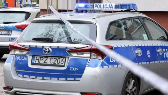 Policja żużel Falubaz
