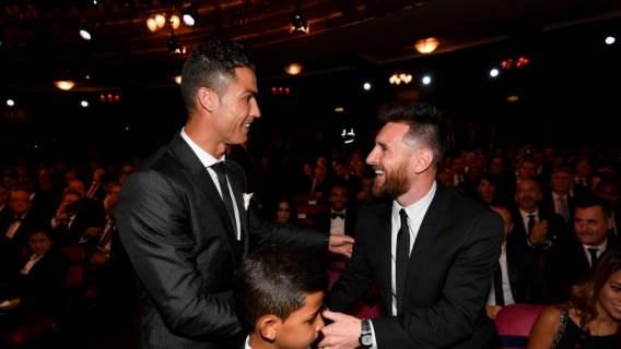 leo messi Cristiano Ronaldo drużyna