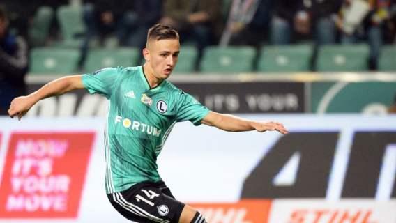 Legia Warszawa Karbownik rekord